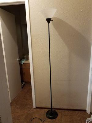 Black floor lamp for Sale in Austin, TX