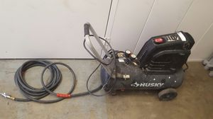 Husker 8 pounder air compressor with a upgraded hoes for Sale in North Highlands, CA