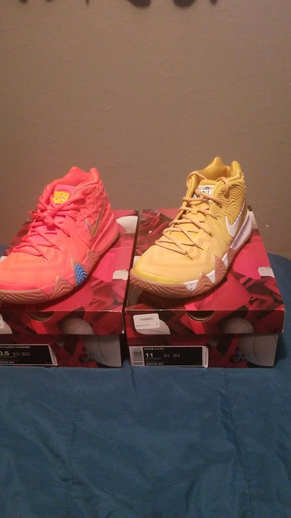 sports shoes fd0fa 988f4 Nike Kyrie 4s Lucky Charms and Cinnamon Toast Crunch for Sale in Denver, CO  - OfferUp