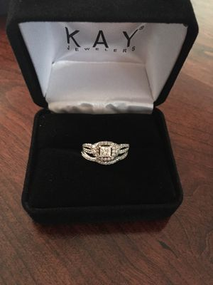 Engagement ring with wedding band- diamond for Sale in Mountain Brook, AL
