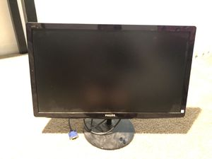 "24"" Philips IPS LED Monitor for Sale in Pompano Beach, FL"