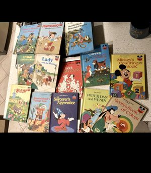 Vintage Disney Wonderful World Of Reading Book Collection Set Of 13 for Sale in Ontario, CA