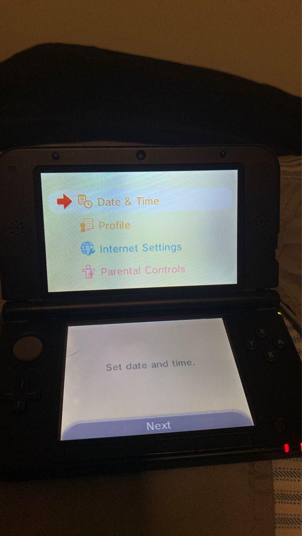 Nintendo 3ds xl and Mario kart 7