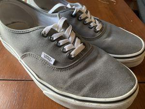 Vans Grey Sz 10 for Sale in Philadelphia, PA