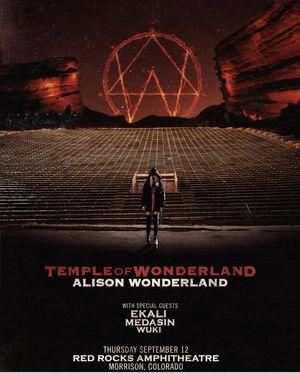 2 tickets Alison Wonderland concert at Red Rocks for Sale in Morrison, CO