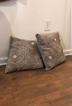 Throw pillows (2) for Sale in Silver Spring, MD