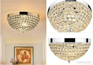 Chandelier Style Crystal Raindrop 3 Lights Mount Ceiling Light Lamp Fixture silver ish Chrome ring for Sale in Toms River, NJ
