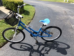 Ladies 24 inch cruiser bike with removable basket for Sale in Venice, FL