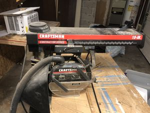 Craftsman radial arm saw contractor series for Sale in Hillsboro, OR