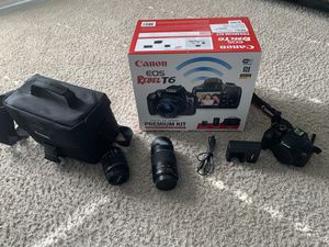 Canon EOS Rebel T6 Digital camera and camcorder for Sale in Sachse, TX