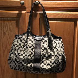 Coach black tote for Sale in Long Island, VA