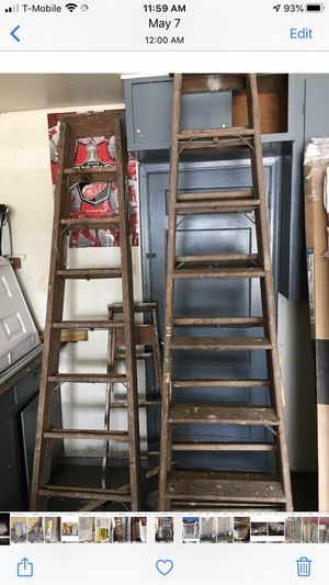 Ladder total 5 ladder for Sale in Dearborn Heights, MI