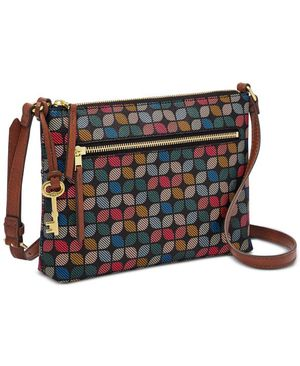 Fossil Fiona Printed Crossbody, Charcoal for Sale in Norfolk, VA