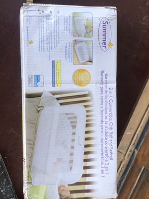 SUMMER crib and bed rail for Sale in San Francisco, CA