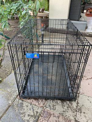 2 Doors Dog metal KENNEL for Sale in Fresno, CA