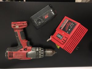 Hammer drill milwaukee with battery and charger for Sale in Miami, FL