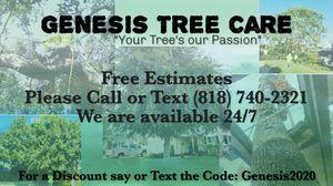 Genesis Tree Care for Sale in La Mirada, CA