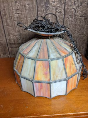 Stained glass hanging light fixture for Sale in Greece, NY