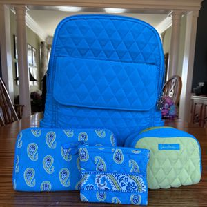 Vera Bradley Backpack and Accessories for Sale in Ashburn, VA