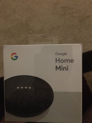 Google home mini for Sale in Alexandria, VA