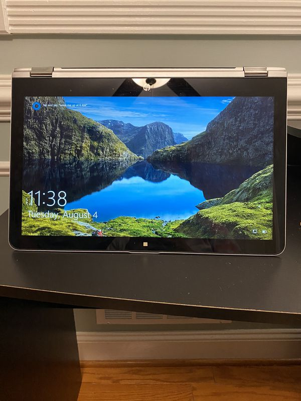 HP Touch-Screen Laptop