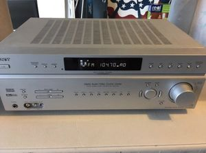 Sony STR-K5900P FM/AM Stereo Receiver (silver) Digital A/V Control Center for Sale in Phoenix, AZ
