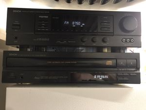 Denon Receiver AVR 610 and CD Player DCM 340 for Sale in Arvada, CO