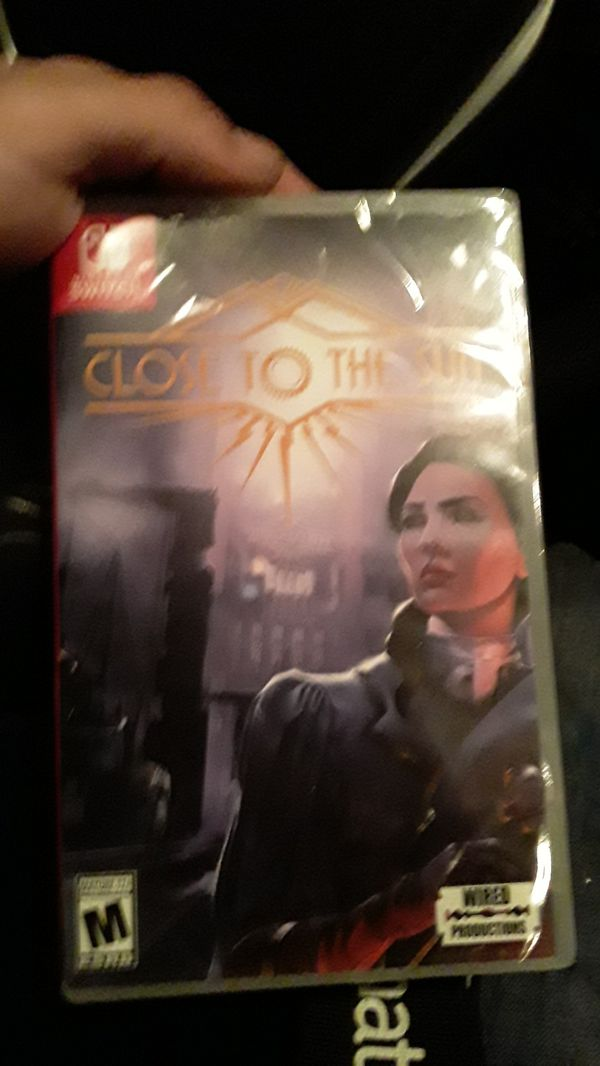 close to the sun Nintendo switch game new unopened