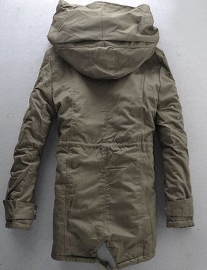 Hooded padded double zip up. Parka Coat, Brand new for Sale in Springfield, VA