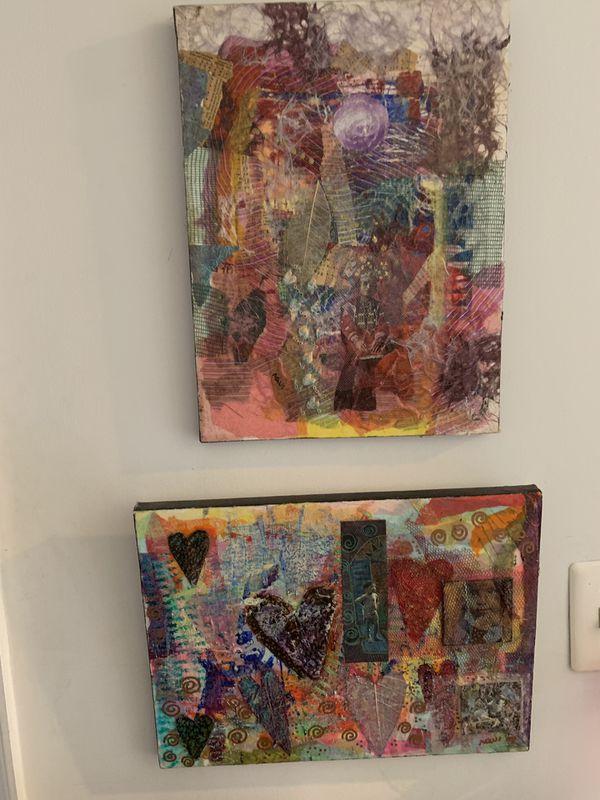Collage Art Textures