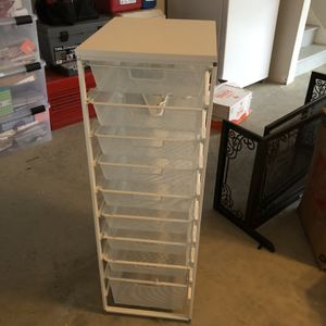 Container Store Storage drawers for Sale in Fairfax, VA
