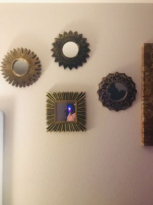 Wall Decor Mirrors for Sale in Puyallup, WA
