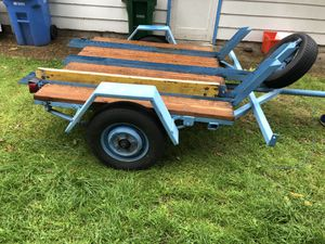 Dirt bike trailer for Sale in Portland, OR