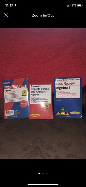 Barrons Algebra Regents Powerpack for Sale in The Bronx, NY