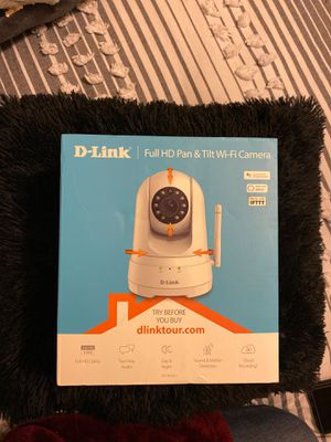 D-link full HD cam Pan tilt WiFi camera for Sale in Hollywood, FL