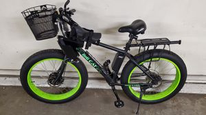 Big Cat Fat tire electric bicycle ebike (Used) for Sale in Yonkers, NY