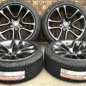 """20"""" Dodge Charger SRT Challenger 300 OEM wheels rims tires 2654 2018 2019 2020 Package deal 1899 BEST TIRES ●33733 Groesbeck Hwy ● ●Fraser MI 480 for Sale in Fraser, MI"""