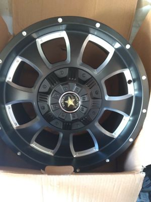 4 18x9 brand new wheels. Bolt pattern 8x165  8x170 for Sale in San Diego, CA