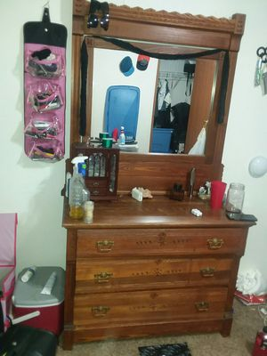 Dresser with mirror for Sale in Montrose, CO