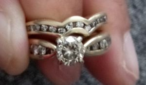 14k Gold Diamond Two Piece set. OBO for Sale in Germantown, MD