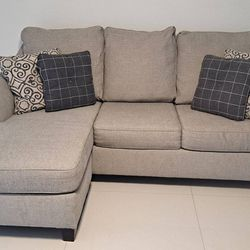 Reversible chaise sofa with sleeper for sale! $800 or better offer. Comes with a cleaning kit. Please DM me for serious offers for Sale in Hialeah,  FL