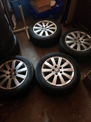 Vw 16in rims & tires, 5x112 for Sale in Baldwin, NY