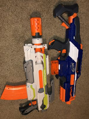 Modulus & Rapidstrike CS-18 Nerf Guns for Sale in Tempe, AZ