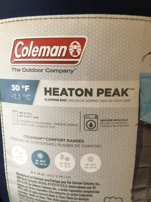 Coleman Sleeping bag 81x39 New Never Used for Sale in Santa Monica, CA