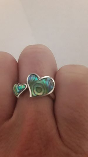 Ring with two hearts for Sale in Fullerton, CA