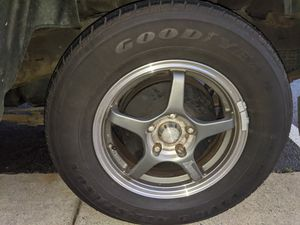 4 GOODYEAR VIVA 3 TIRES 215 / 70 R15 for Sale in Stafford, VA