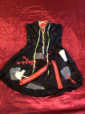 Rag Doll Strapless dress Halloween Costume for Sale in Baltimore, MD