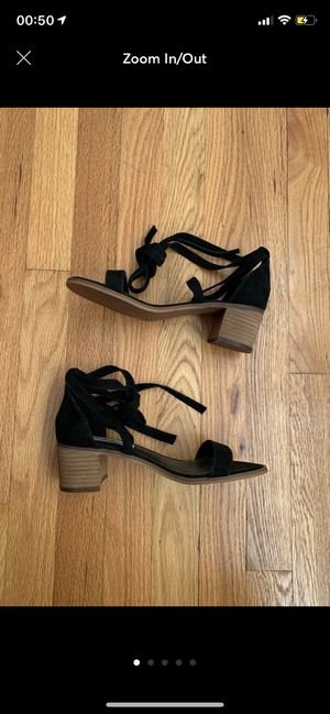 steve madden • lace up block sandals for Sale in Skokie, IL
