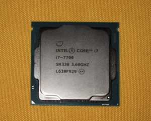 Intel I7-7700 Quad Core 3.8mhz - 4.2mhz Turbo for Sale in Mountlake Terrace, WA