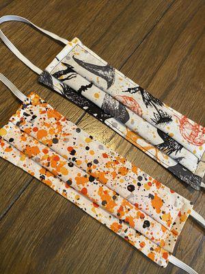 Halloween fabric masks set for Sale in Oxnard, CA